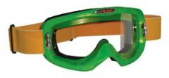 Lightweight Green Sport Atv/Motorcross Goggles