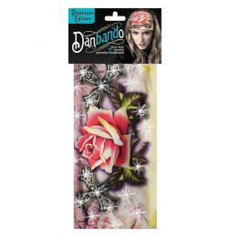 DBD037 Roses & Barbs with Stones Danbando