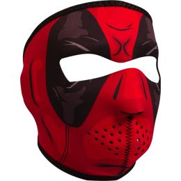 WNFM109 ZAN® Full Mask- Neoprene- Red Dawn
