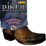 BBS/DR4 Weather Proof- Boot Straps- Desert Rose- 4 Inch