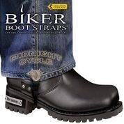 BBS/MD6 Weather Proof- Boot Straps- Midnight Cycle- 6 Inch