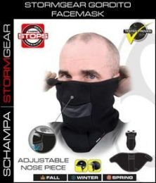 VNG004 StormGear Gorditi Facemask w/ Velcro Closure/ Nose Opening