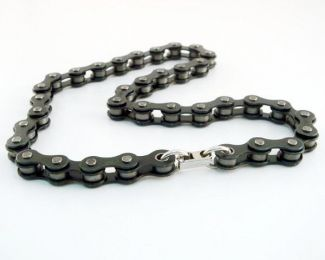 A321N Bike Chain Choker- Black