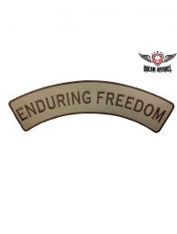 Enduring Freedom Top Rocker